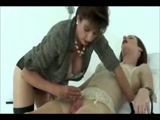 British Domme Uses Her Sissy, Free Blowjob Porn Video 4f