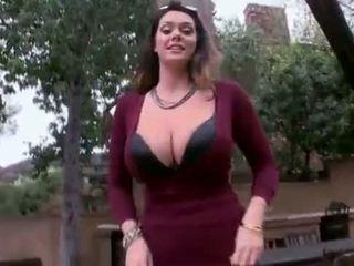 Alison tyler - obrovský prírodné kozy dostať fucked