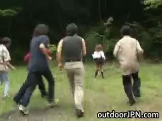 japonés, interracial