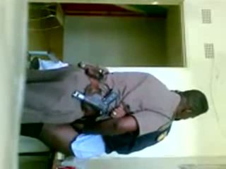 afrika, üniforma, cop