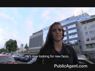 Publicagent morgan strips no un gets fucked mans a fake modele agent