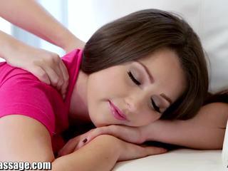 Eksklusive alle jente massasje tenåring lesbiske fitte eating