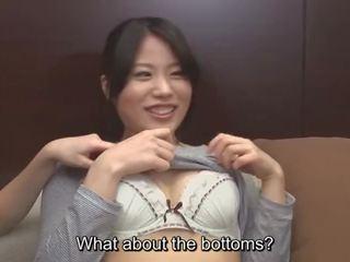 Jav pagaidām ar amatieri uz a cfnf lesbiete trijatā subtitled