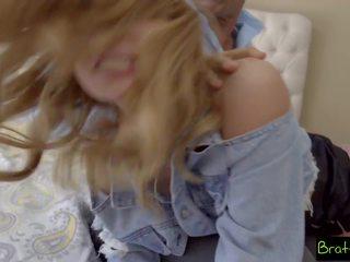 blondjes, pa, kleine tieten