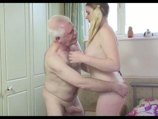Gorące stary człowiek n młody suka