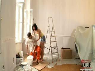 Abbie cat sucks yang painter