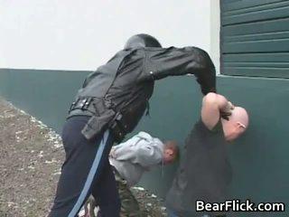 Homo bears getting arrested en geneukt