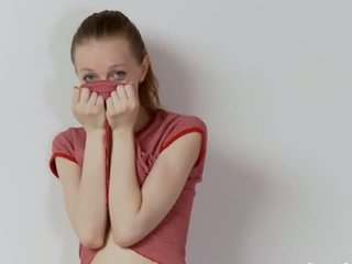 Drunk Latvian Super Skinny Girl Teasing