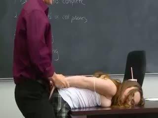 Fantastic Hot Babysitter Fuck On Table