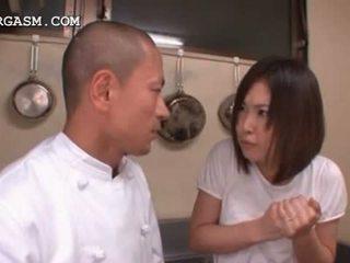 japanisch, baby, creampie