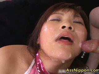 Haruka Andou Asian Teen Slut Gives