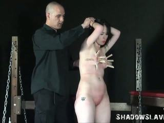 Tough Girl Whipped and Tit Torture with Fae Corbin