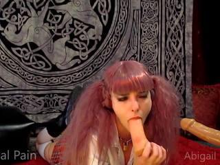 Deepthroat anaal spelen groot tong abigail dupree: hd porno 82