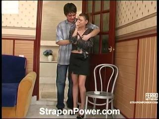 Hot Strapon Power Video Starring Susanna, Nikola, Leila