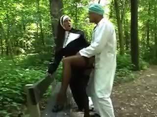 babes, venkovní, nun