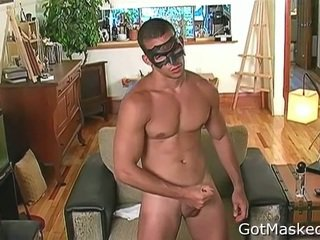 Muscled Latin Chap Busting Nuts 2 By Gotmasked