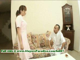 Myuu hasegawa innocent 漂亮 中国的 女孩 gets teased