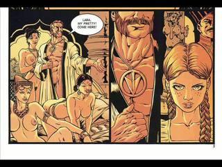 Hardcore sesso fumetto e fantasy bondage fumetto