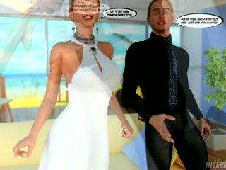 Hawaïen honeymoon cocu gangbang