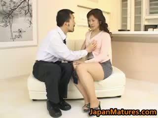 Hitomi kurosaki зріла азіатська ціпонька part3