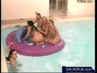 Pornstage Gauge and her orgy
