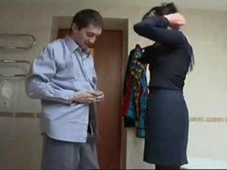 Russisk eldre røff sex