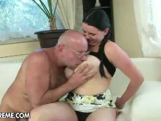 Grandpas Fuck Teens: Voluptuous Laurea gets fucked by old guy