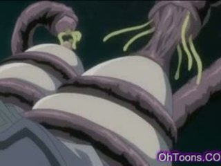 Hot Young Schoolgirl Getting Hard Fucked By Tentacle Monster
