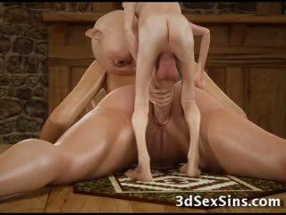 3d hobbits και tentacles γαμώ κορίτσια!