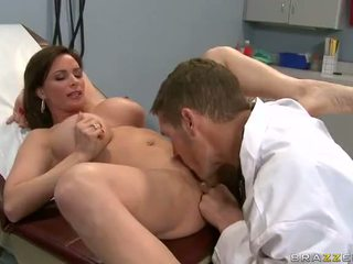 MILF Diamond Foxxx Gets Fucked And Creampied By Doctror Video