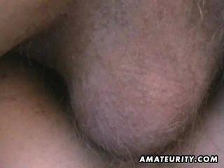 Amateur tiener vriendin anaal cumshot compiliation
