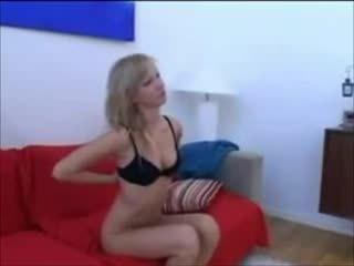 Шведська дівчина getting деякі датчанка пеніс
