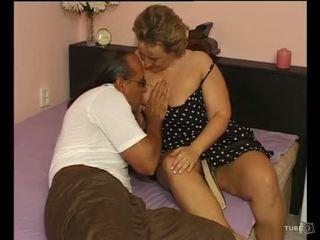 En sexig breda lady loves kön
