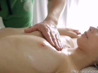 Delightsome virgin punci száj kap stimulation