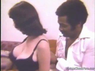 didelės krūtys, rasių sekso, vintage porn