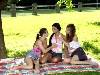 lesbian sex, orgy, hot brunette