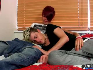 Young Fellow Rhys Casey Returns To Bonk His Opening Duchess At Emo Network Lucky Skylar West!