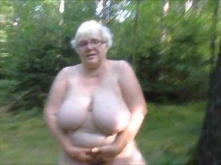 bbw, זונה, סבתא 'לה
