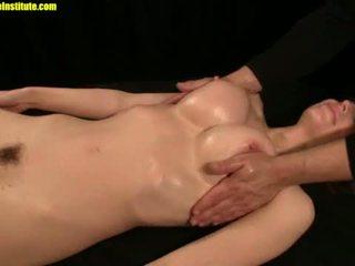 squirting, teasing, erotic massage