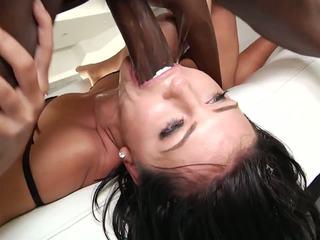 Brutal Interracial Anal Gangbang, Free HD Porn f3