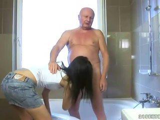 Awesome Childlike Shafts Old Grandpa
