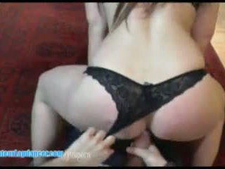 Hot lapdancer has sex with a camera guy
