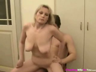 Russian mature wife with young guys