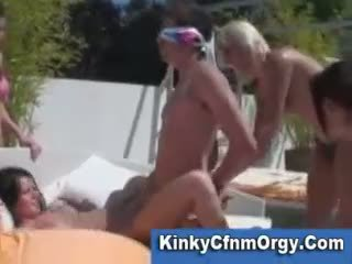 fucking, groupsex, outdoors