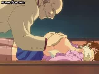 Personagem modelo gets dela niples licked