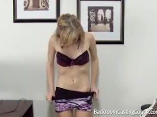 young, audition, first time