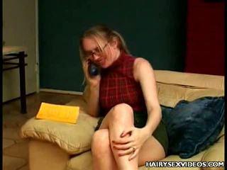 Hirsute Muff Takes Cock Pounding