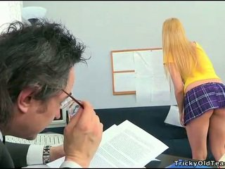Sex lesson with horny teacher