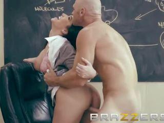 Brazzers Back to University - Busty Brunette Student Wants Her Teacher