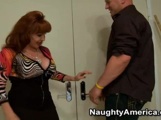 Busty Shanna McCullough Sharing The Tackle And Moaning